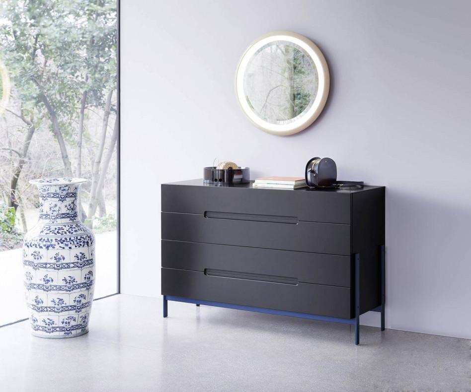 novamobili design kommode float auf f en. Black Bedroom Furniture Sets. Home Design Ideas