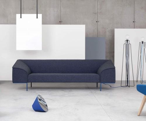Prostoria Seam Contour Sofa blau