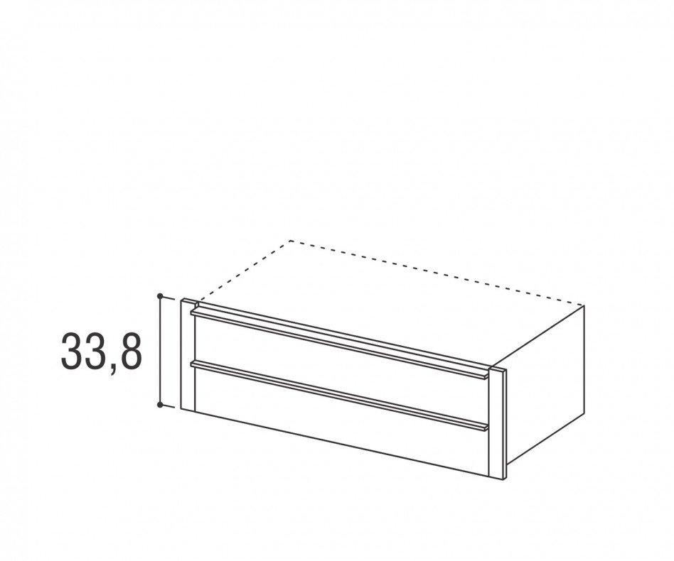 Novamobili Kleiderschrank-Zubehör Armadi 2er-Schubladen