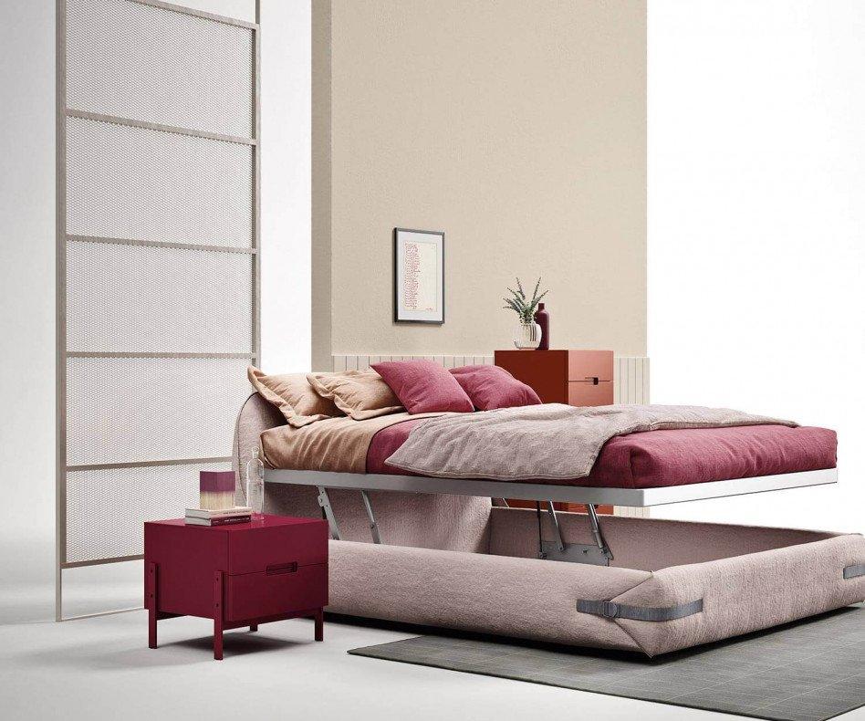 Novamobili Float Nachttisch auf Füßen