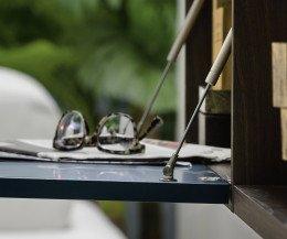 Novamobili About 6 Wohnwand Offene Klapptür mit Hydraulikdämpfung
