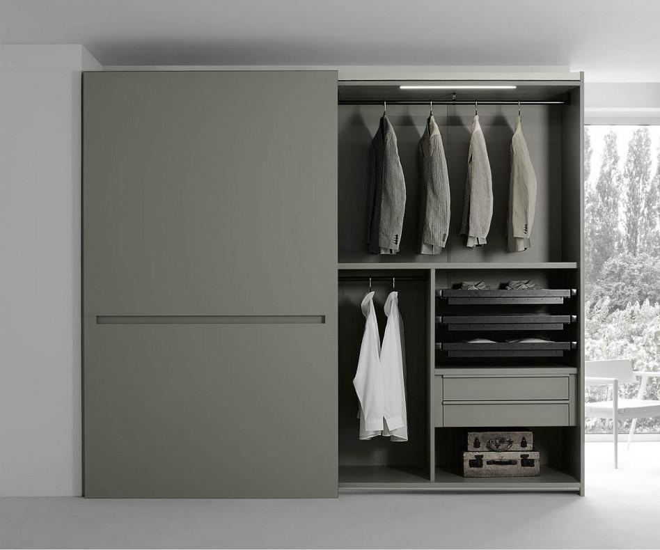livitalia kleiderschrank vitro glasschiebet ren. Black Bedroom Furniture Sets. Home Design Ideas