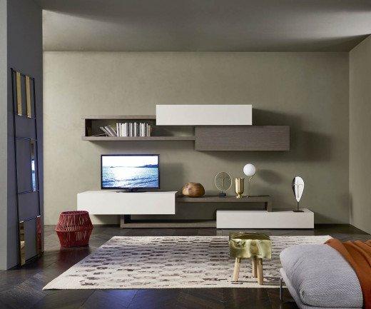 Livitalia Moderne Wohnwand C28