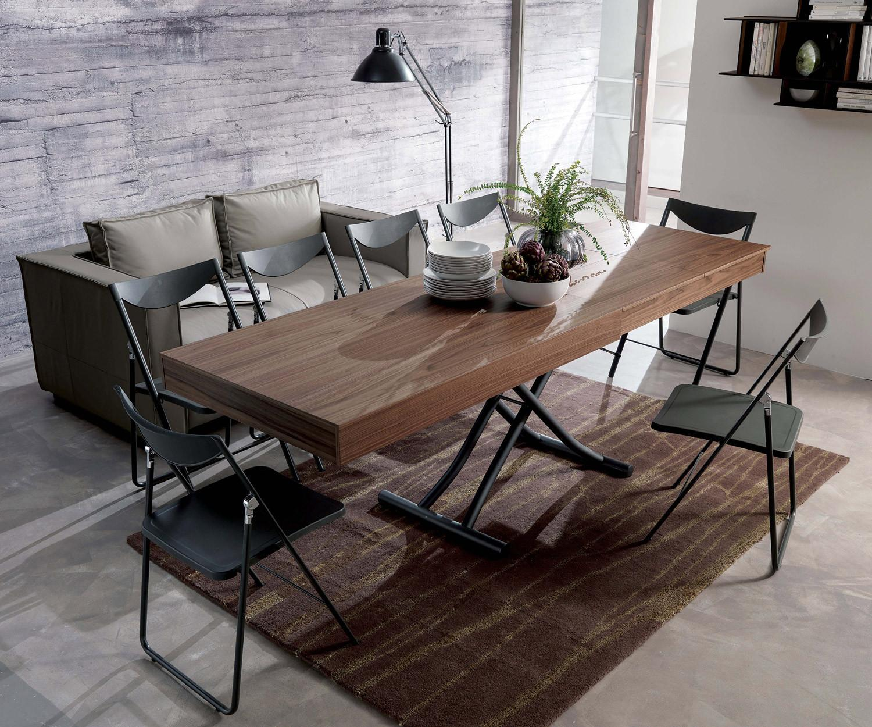 ozzio newood ausziehbarer h henverstellbarer couchtisch. Black Bedroom Furniture Sets. Home Design Ideas
