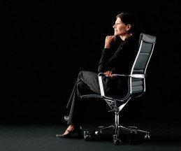 Ergonomischer Designer Bürostuhl ICF Una Chair Management