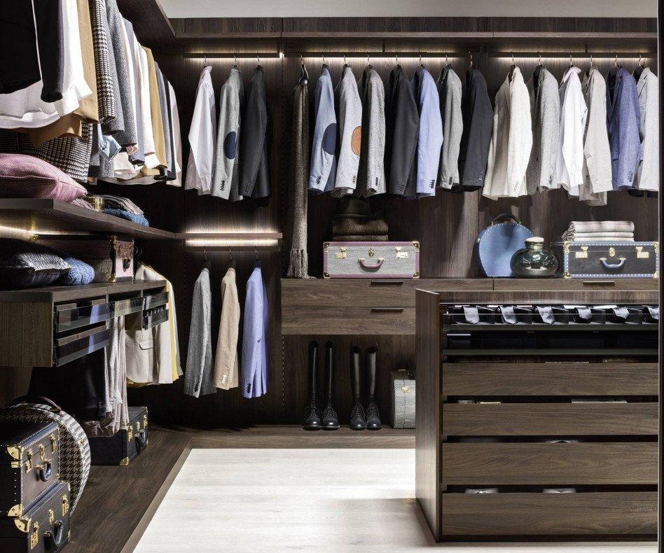 Novamobili Begehbarer Design Kleiderschrank Break