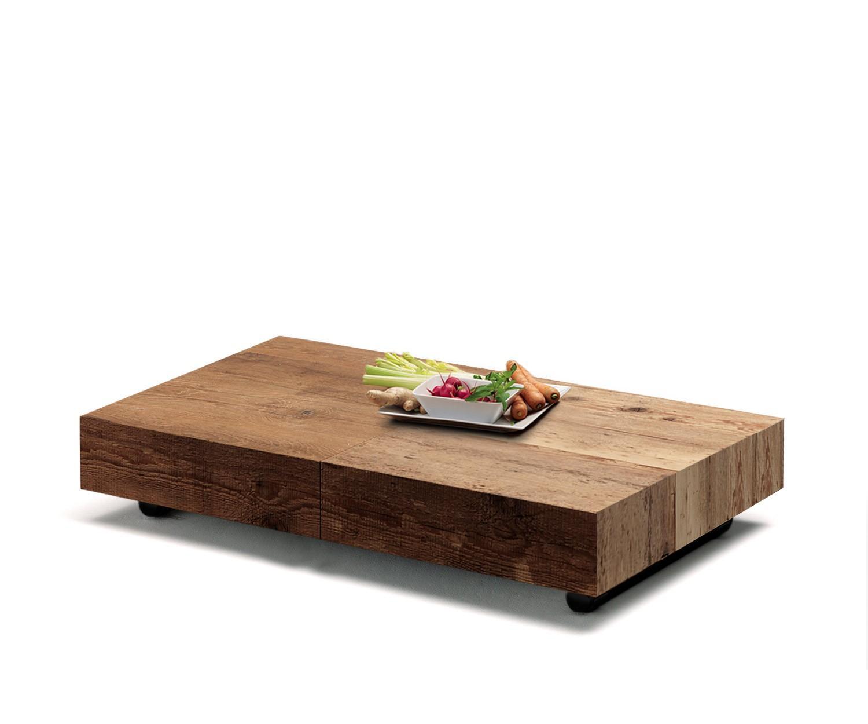 Ozzio Tisch Box ~ Ozzio Couchtisch Box Natur Höhenverstellbar