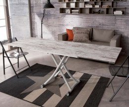 Ozzio Sydneylong Tisch aufgeklappt auf 200 x 68 cm