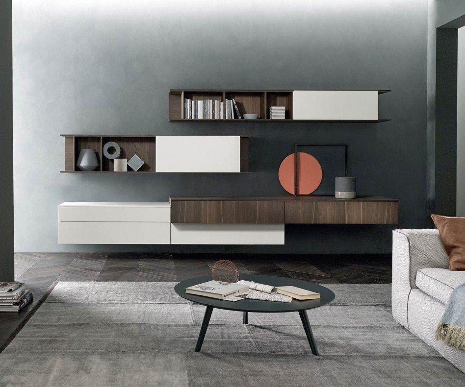 Exklusiver Livitalia Design Couchtisch Trio Rund D90 cm