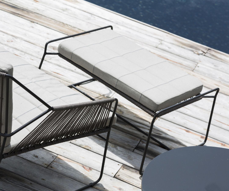 oasiq sandur design edelstahl schnur sessel. Black Bedroom Furniture Sets. Home Design Ideas