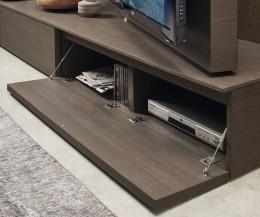 Hochwertiges Livitalia Vision Design Lowboard mit Staufach für Elektronik