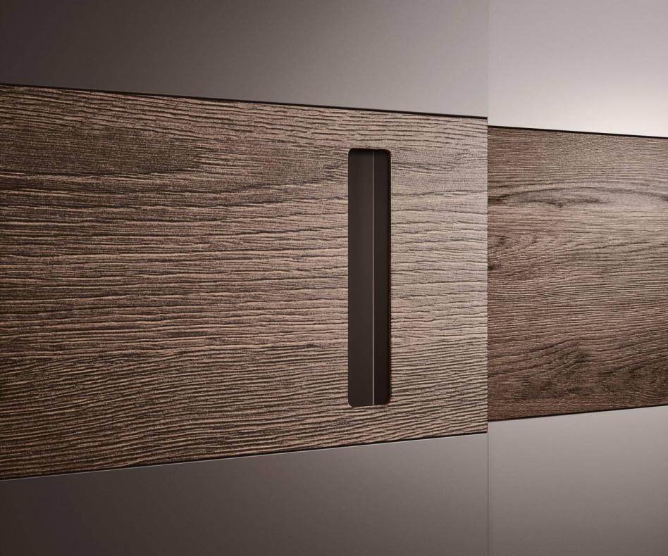 Exklusiver Novamobili Design Kleiderschrank Class Schiebetüren in Weiß Matt