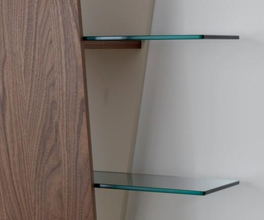 Compar Bücherregal Book Glasböden
