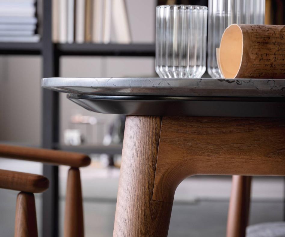 Hochwertiger Novamobili Design Tisch Hanami Esszimmertisch Eiche