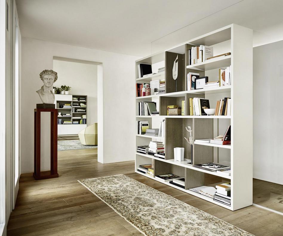 Design Raumteiler Bücherregal C87