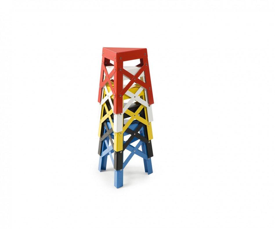 Exklusiver RS Barcelona Eiffel Alu Kids Designer Hocker