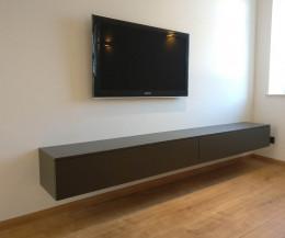 Tv möbel wandhängend  Hängende Lowboards ⇒ 120-300 cm Breite ⇒ in 30 Farben