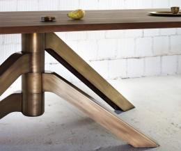 Miniforms Tisch Keplero Bronze Standfuß
