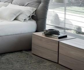 Wohnideen: Novamobili Nachttisch Globe 2 Schubladen