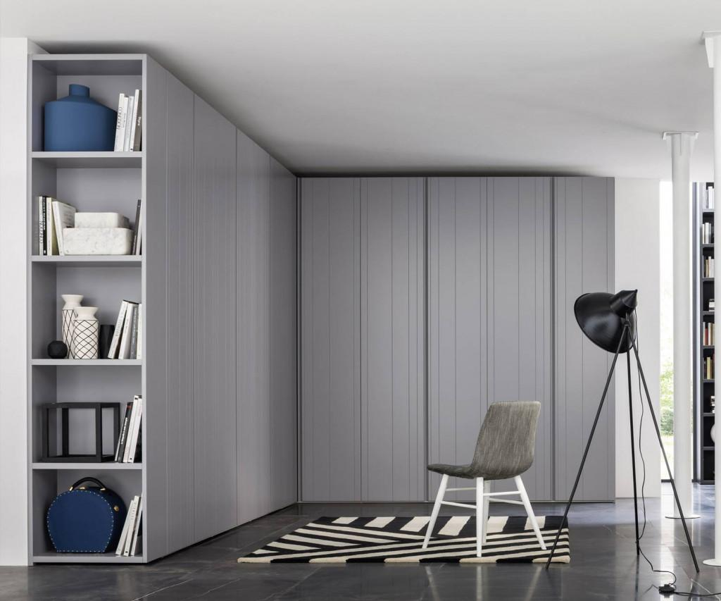 Novamobili Stripe Designer Kleiderschrank