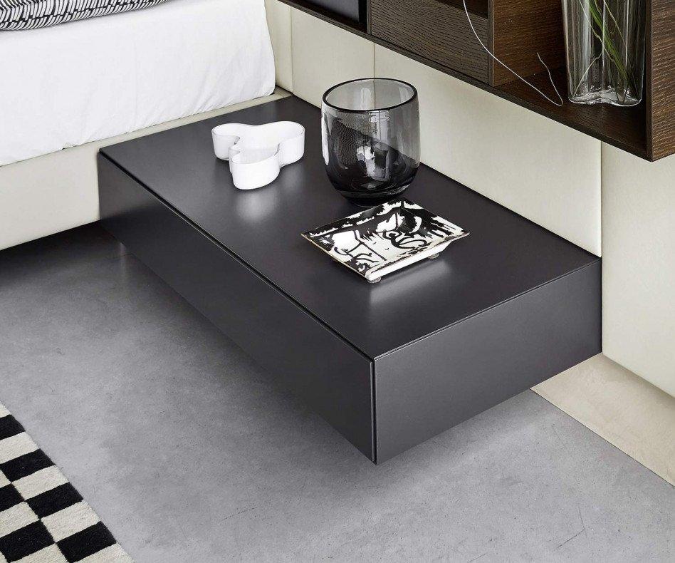 Design Nachttisch hängend 1 Schublade