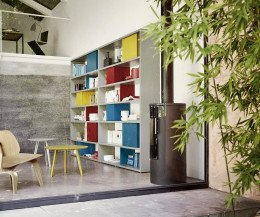 Modernes Livitalia Design Bücherregal C84