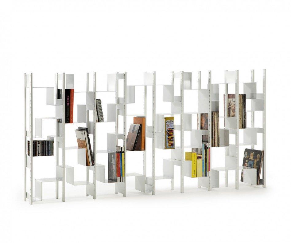 RS Barcelona Joint Venture Bücherregal hoch weiß