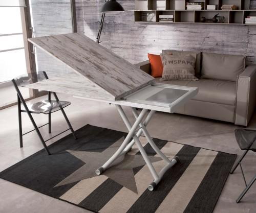 Ozzio Sydneylong Tisch aufklappbar
