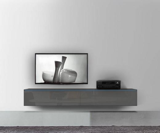 tv bank wei h ngend. Black Bedroom Furniture Sets. Home Design Ideas