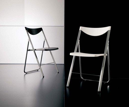 Exklusiver Ozzio Design Klappstuhl Nobys