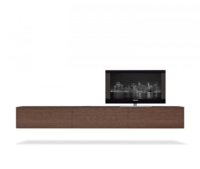 h ngendes tv wand lowboard b 270. Black Bedroom Furniture Sets. Home Design Ideas