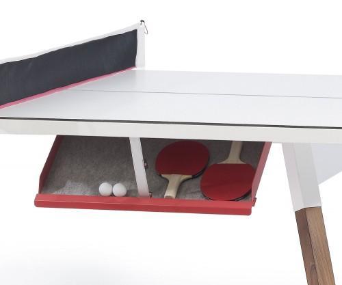 RS Barcelona Ping Pong Tischtennisplatte Esstisch Verstaufach