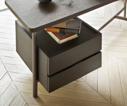 Hochwertiger Livitalia Design Architekten Schreibtisch mit Schubladen