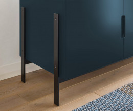 Modernes Novamobili Designer Sideboard Float im Detail Stellfüße