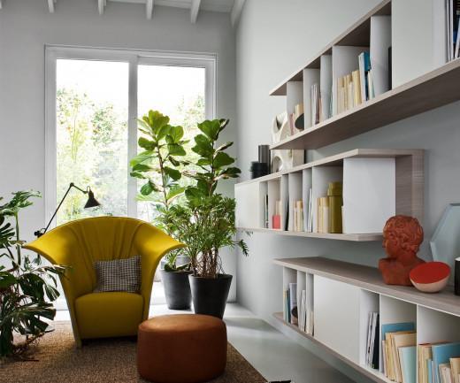 Novamobili Reverse Bücherregal waagerecht