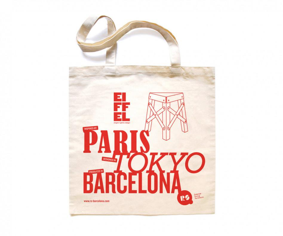 RS Barcelona Eiffel Paper Hocker