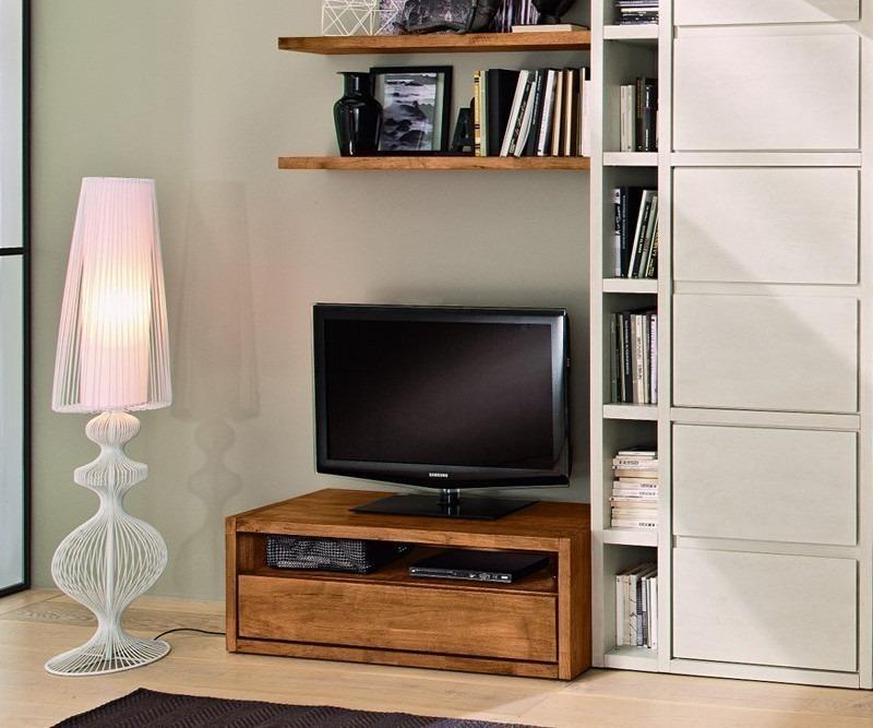 FGF Mobili Dual TV Bank Parawood massivholz Fernsehmöbel