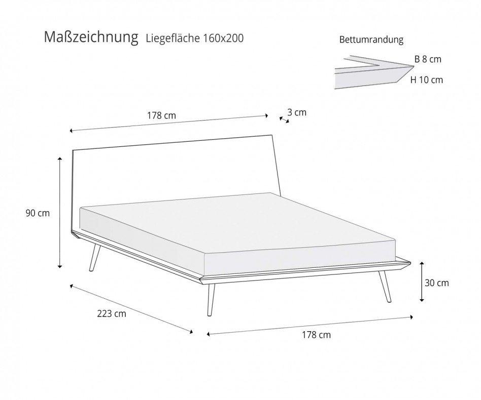 Modernes Novamobili Design Bett Dodo