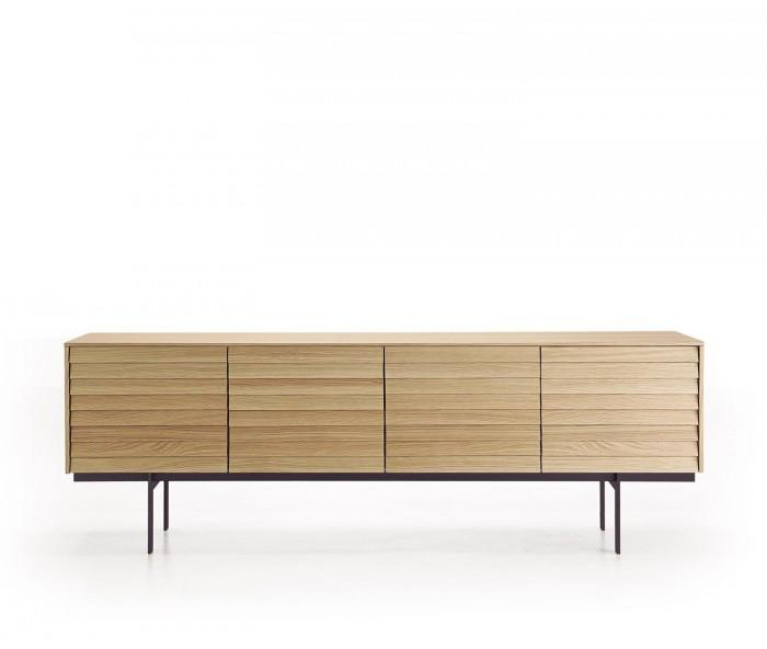 Punt Sussex Sideboard auf Fuesse B235 Super Matt Eiche