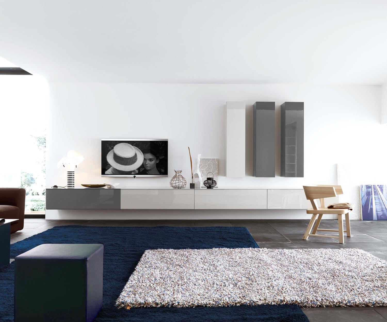 Design Hängeschrank Vertikal schmal & hoch von Novamobili