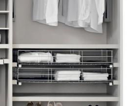inneneinrichtung f r kleiderschr nke von novamobili. Black Bedroom Furniture Sets. Home Design Ideas