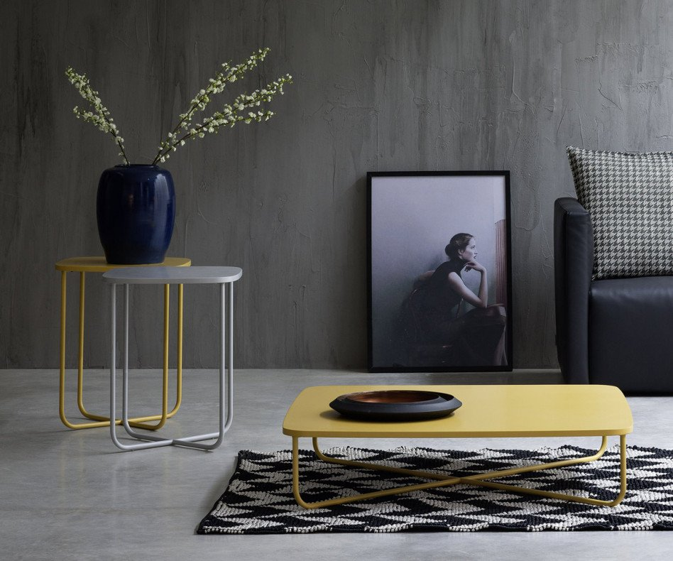 Novamobili Design Beistelltisch Sissi 40 x 40 cm