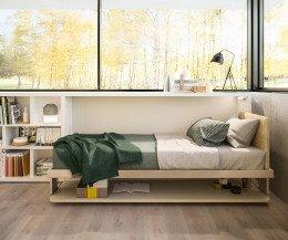 Modernes Clei Kinderzimmer Design Klappbett mit Schreibtisch