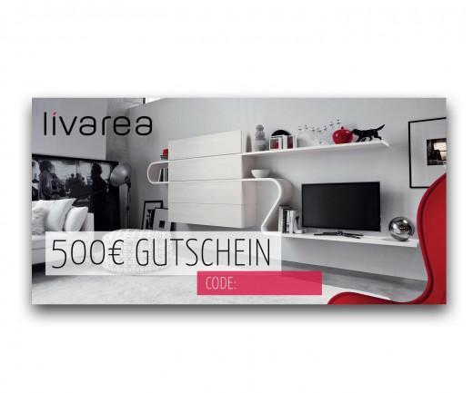 500€ Livarea Geschenkgutschein