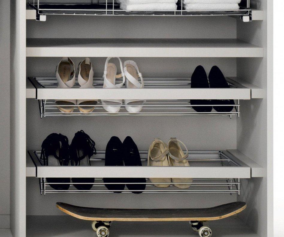 Novamobili Kleiderschrank-Zubehör Armadi Schuhablage ausziehbar