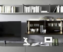 Wohnwand hängend modern  Wohnwand – Moderne Designer TV Wohnwände