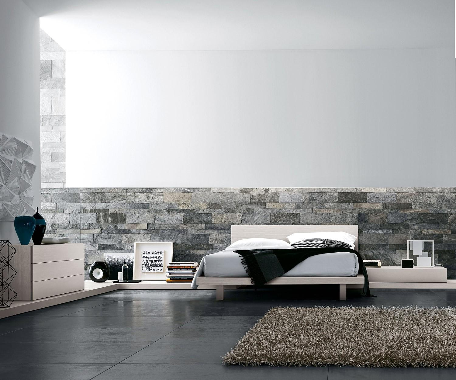 wandgestaltung stein trends vor nachteile. Black Bedroom Furniture Sets. Home Design Ideas