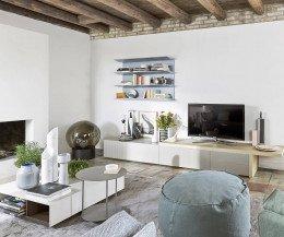 Wohnzimmer Wandboard Horizon