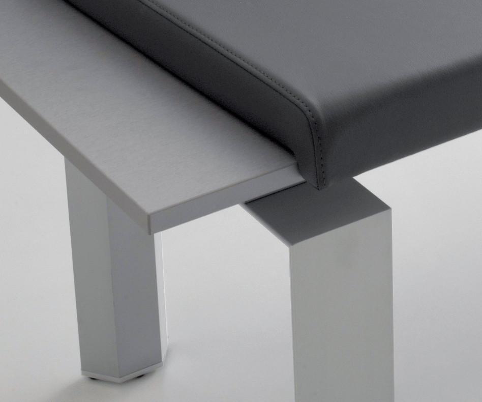 Compar Sitzbank Panca mit 4 Sitzkissen