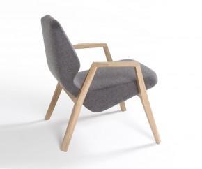 Wohnideen: Prostoria Sessel Oblique mit Armlehnen